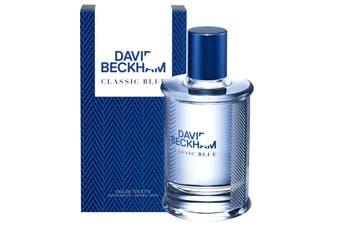 Classic Blue by DAVID BECKHAM for Men (90ML) Eau de Toilette-BOTTLE