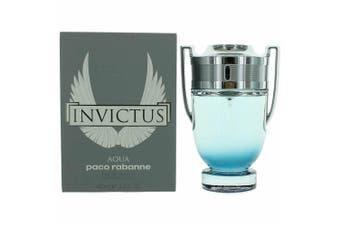 Invictus Aqua by PACO RABANNE for Men (100ML) Eau de Toilette-BOTTLE
