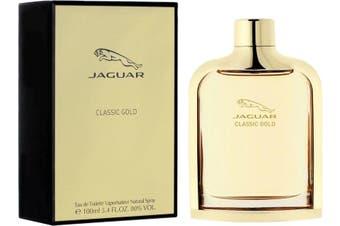 Jaguar Gold by JAGUAR for Men (100ML) Eau de Toilette-BOTTLE