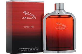 Jaguar Red by JAGUAR for Men (100ML) Eau de Toilette-BOTTLE