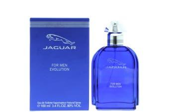 Jaguar Evolution by JAGUAR for Men (100ML) Eau de Toilette-BOTTLE
