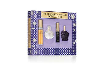 Elizabeth Taylor Collection 4 Piece by ELIZABETH TAYLOR for Women (N/A) -MINI SET