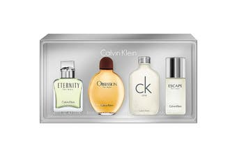 Calvin Klein Collection 4 Piece by CALVIN KLEIN for Men (N/A) Eau de Toilette-MINI SET