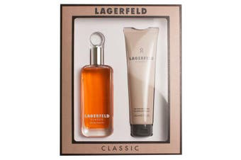 Lagerfeld Classic 2 Piece by KARL LAGERFELD for Men (125ML) -GIFT SET