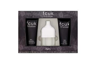 Friction 3 Piece by FCUK for Men (100ML) -GIFT SET