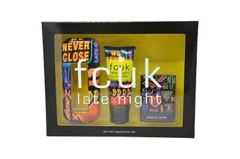 Late Night 3 Piece by FCUK for Women (100ML) -GIFT SET