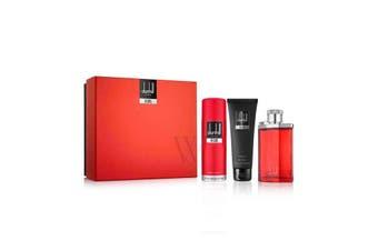 Desire Red 3 Piece #2 by DUNHILL for Men (100ML) Eau de Toilette-GIFT SET