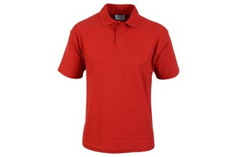 Absolute Apparel Mens Hallmark Polo (Red) (3XL)