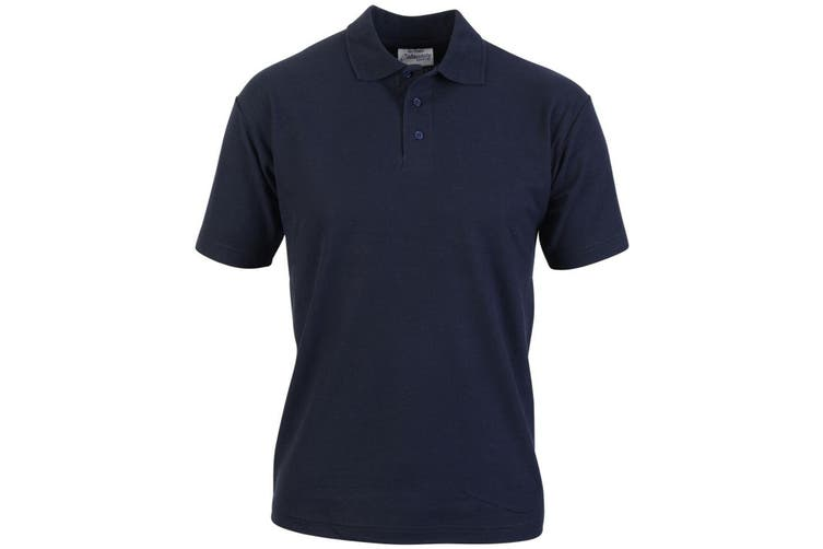 Absolute Apparel Mens Pioneer Polo (Navy) (3XL)
