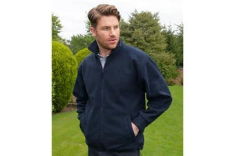 Absolute Apparel Mens Alaska Full Zip Fleece (Navy) (2XL)