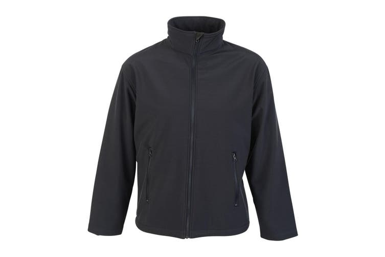 Absolute Apparel Mens Classic Softshell (Navy) (XL)