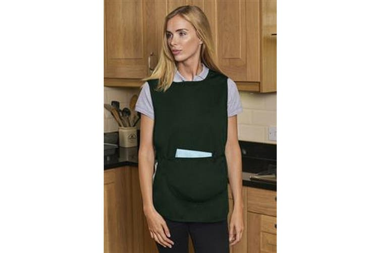 Absolute Apparel Adults Workwear Tabard With Pocket (Bottle Green) (XL)