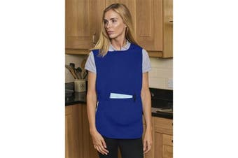Absolute Apparel Adults Workwear Tabard With Pocket (Royal) (L)