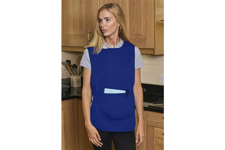 Absolute Apparel Adults Workwear Tabard With Pocket (Royal) (XL)