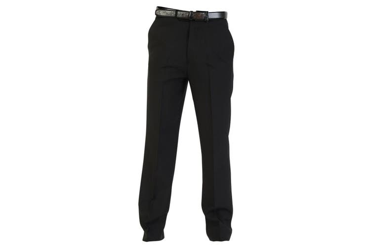 Absolute Apparel Polyester Workwear Trousers (Black) (36 inches long)