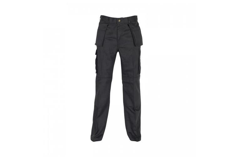 Absolute Apparel Mens Workwear Utility Cargo Trouser (Navy) (48S)