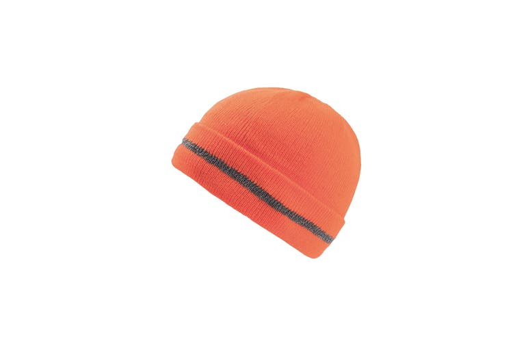 Atlantis Workout Enhanced Visibility Beanie (Safety Orange) (One Size)