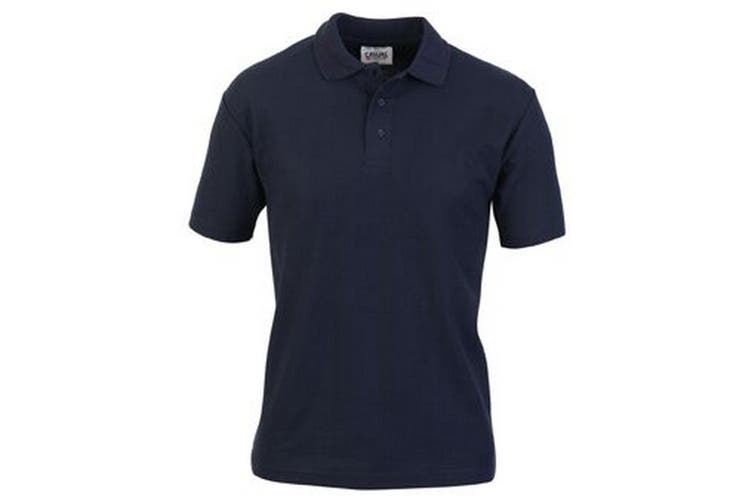 Casual Classic Mens Pique Polo (Navy) (2XL)