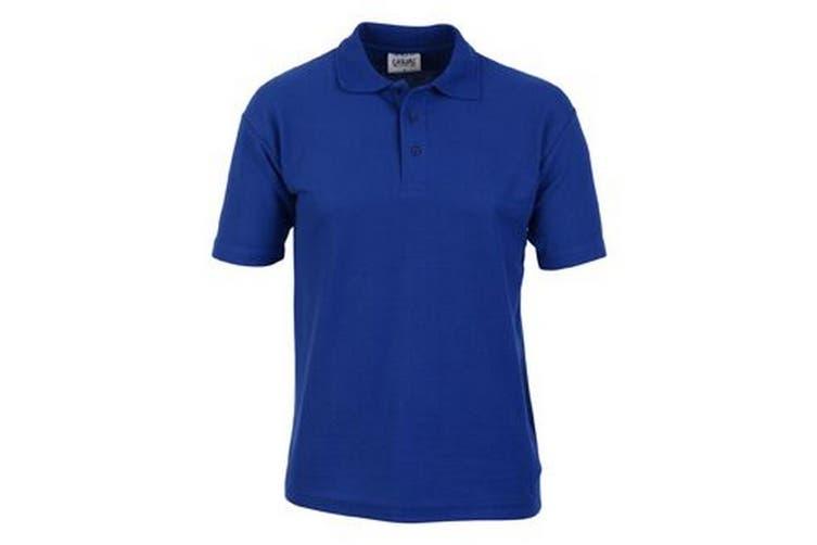 Casual Classic Mens Pique Polo (Royal) (XL)