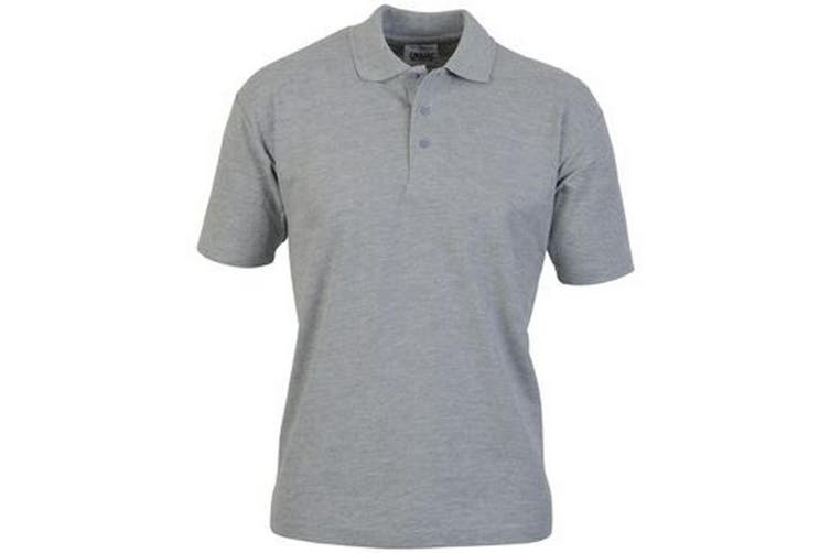 Casual Classic Mens Pique Polo (Sport Grey) (L)