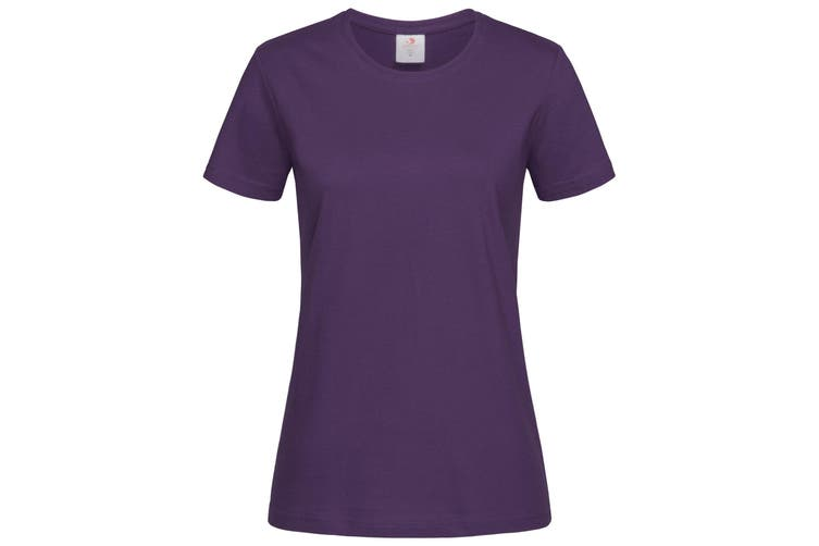 Stedman Womens/Ladies Classic Tee (Deep Berry) (XL)