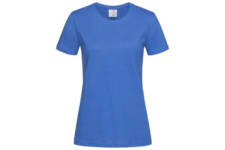 Stedman Womens/Ladies Classic Tee (Bright Royal) (XL)