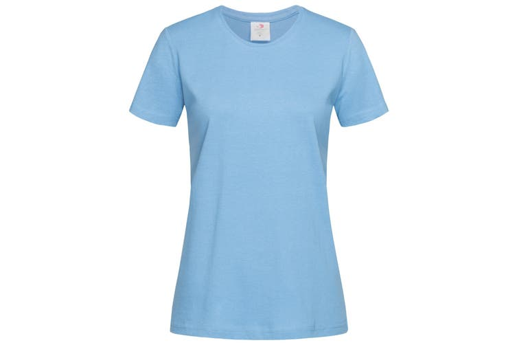Stedman Womens/Ladies Classic Tee (Light Blue) (M)
