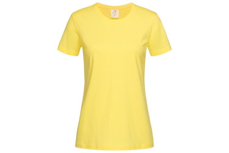 Stedman Womens/Ladies Classic Tee (Yellow) (M)