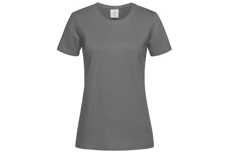Stedman Womens/Ladies Classic Tee (Real Grey) (S)