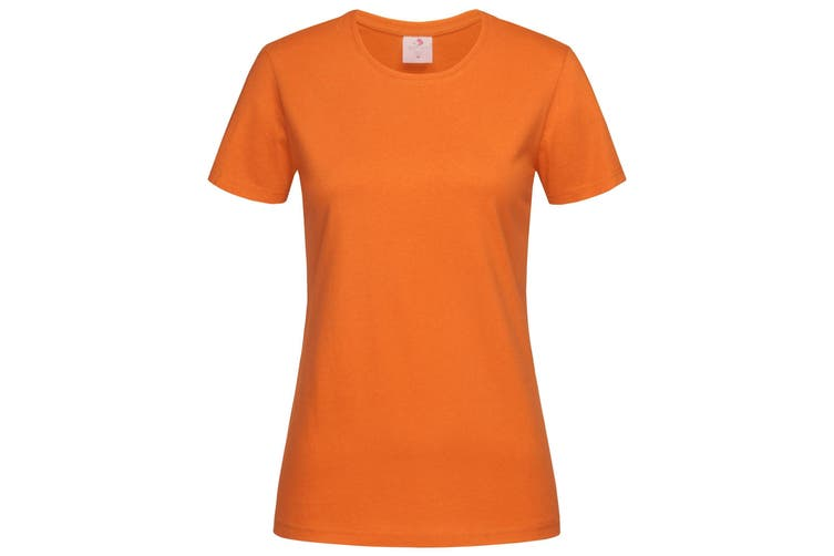 Stedman Womens/Ladies Classic Tee (Orange) (M)
