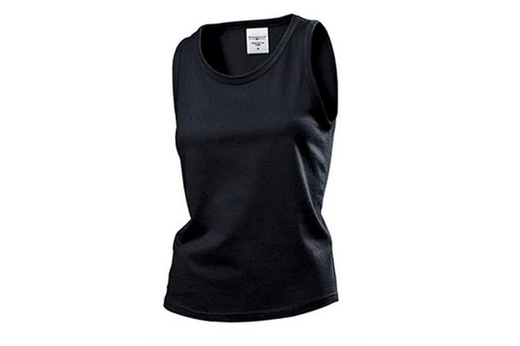 Stedman Womens/Ladies Classic Sleeveless Tank Top (Black Opal) (M)