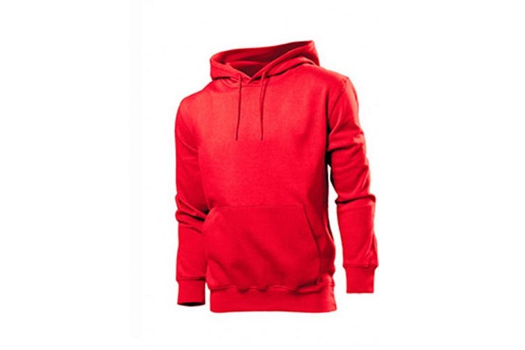 Stedman Mens Classic Hood (Scarlet Red) (S)