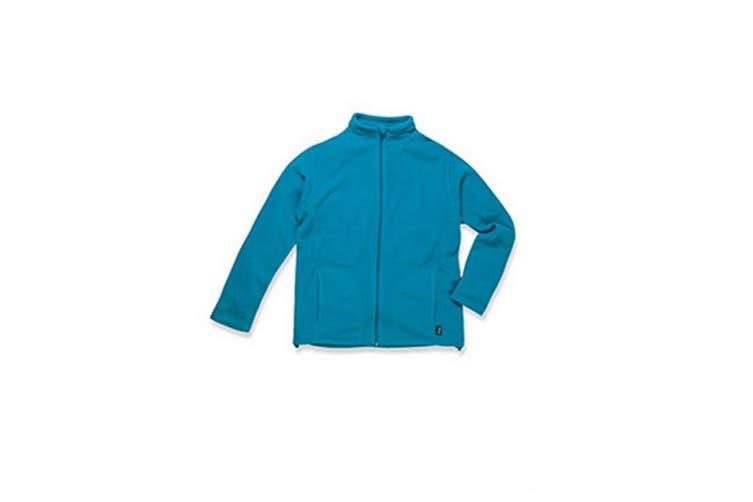 Stedman Mens Active Full Zip Fleece (Hawaii Blue) (M)