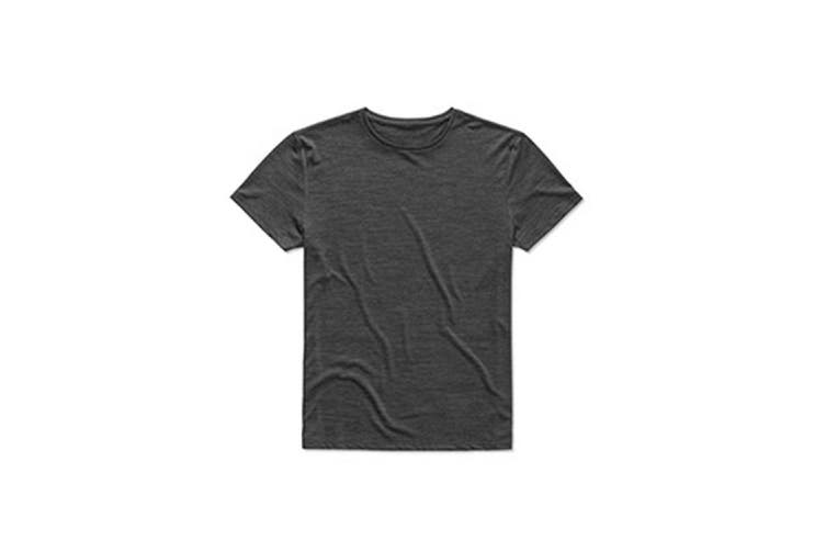Stedman Mens Active Intense Tech Tee (Anthra Heather) (2XL)