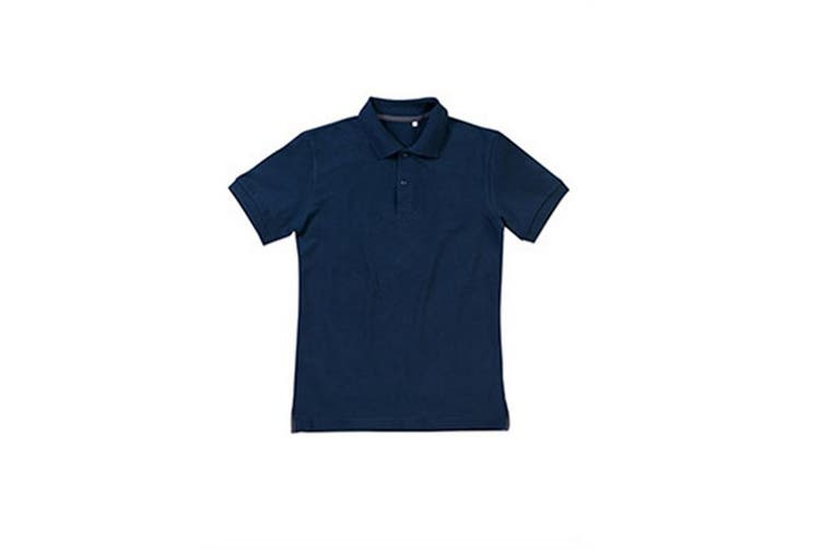 Stedman Mens Henry Cotton Polo (Blue) (S)