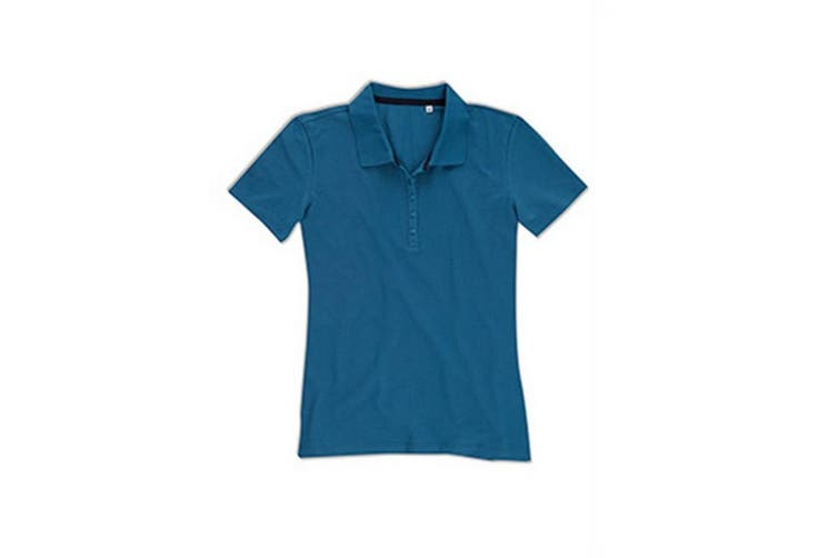 Stedman Stars Womens/Ladies Hanna Cotton Polo (King Blue) (XL)