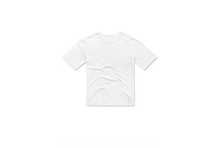 Stedman Mens Organic Slub T-Shirt (White) (XL)