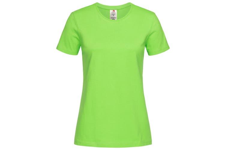 Stedman Womens/Ladies Classic Organic T-Shirt (Kiwi Green) (L)