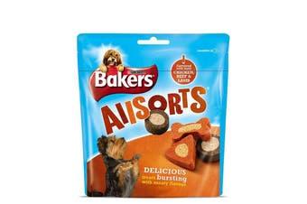 Bakers Allsorts Dog Treats (6 Packs) (Chicken  Beef  and Lamb) (6 x 98g)