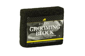 Lincoln Horse Grooming Block (Black) (One Size)