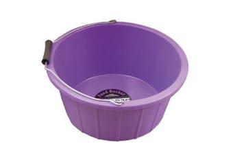 Stable Kit Horse Feed Bucket (Purple) (16 litre)