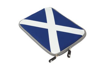 Scotland Neoprene 10 Inch Tablet/Ipad Case/Sleeve (Blue) (10-10.2 (25.9cm))