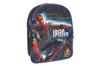 Avengers Childrens/Kids Iron Spider Backpack (Blue/Red) (One Size)