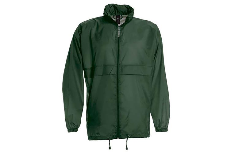 B&C Sirocco Mens Lightweight Jacket / Mens Outer Jackets (Bottle Green) (L)