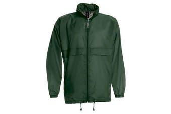 B&C Sirocco Mens Lightweight Jacket / Mens Outer Jackets (Bottle Green) (3XL)