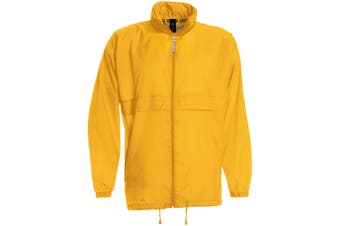 B&C Sirocco Mens Lightweight Jacket / Mens Outer Jackets (Gold) (XL)