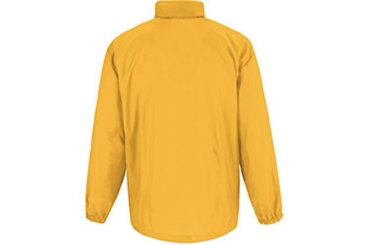 B&C Sirocco Mens Lightweight Jacket / Mens Outer Jackets (Gold) (2XL)