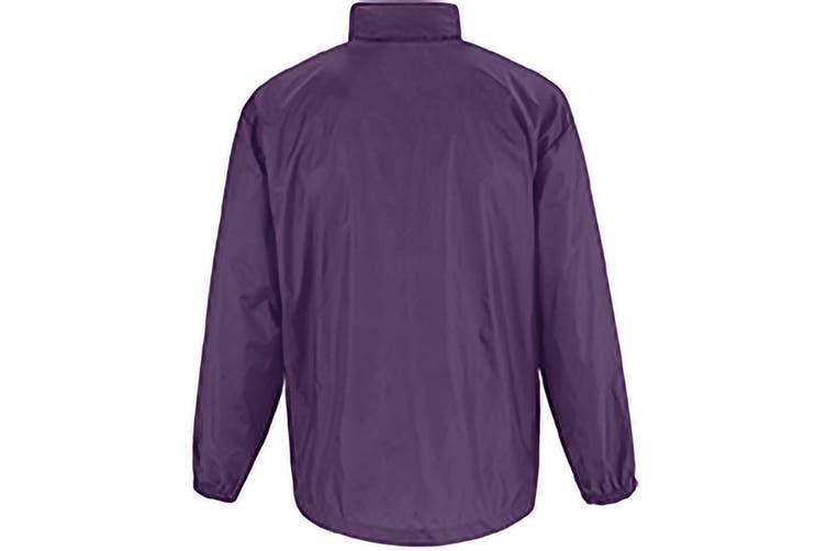 B&C Sirocco Mens Lightweight Jacket / Mens Outer Jackets (Purple) (2XL)