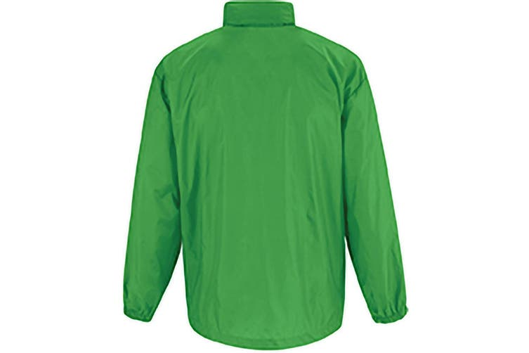 B&C Sirocco Mens Lightweight Jacket / Mens Outer Jackets (Real Green) (S)