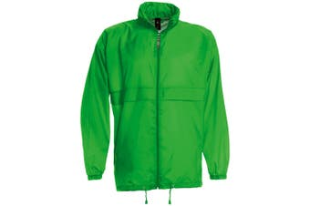 B&C Sirocco Mens Lightweight Jacket / Mens Outer Jackets (Real Green) (2XL)